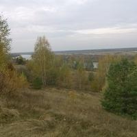 Вид на Мокшу с Сычихи. Осень 2015.