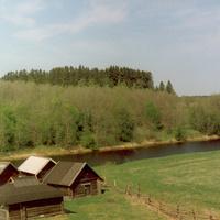 Кожинские бани весной.