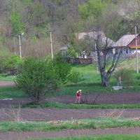 Весняні роботи на огородах,весна 2015