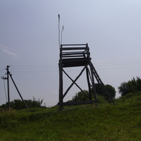 Козацька спостережна вежа.