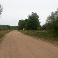 Показались дома деревни