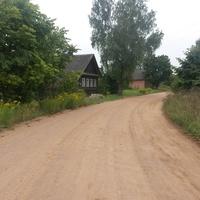 Старые дома на ул.Центральной.