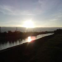Закат над Тереком Кизляр