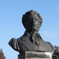 Острогожск. Памятник А.С. Пушкину.