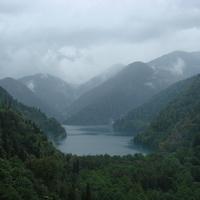 Озеро Рица (2 сентября 2010 года)