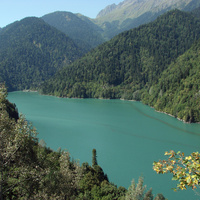Озеро Рица (4 сентября 2010 года)