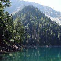 Озеро Малая Рица (5 сентября 2010 года)