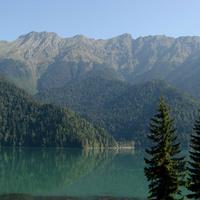 Озеро Рица (5 сентября 2010 года)