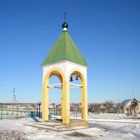 Колокольня Космо-Дамиановского храма в селе Курасовка