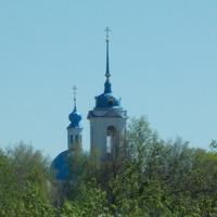 Благовещения церковь. Вид со стены Зарайского кремля.