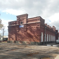 Здание вокзала Арзамас-1