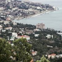 Вид на Симеиз с горы Кошка