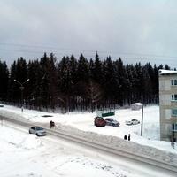 Чусовой. Из окна гостиницы. 2016 г