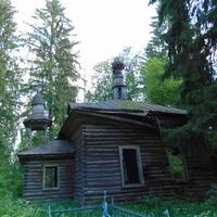 Преданья старины глубокой.Старая часовня на кладбище.