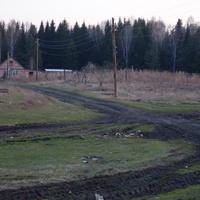 Дорога на Ново-Макурино.