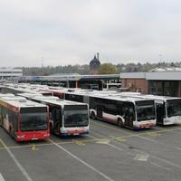 Висбаден, автобусный парк