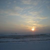 Пейзаж на окраине села Михайловка