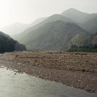Речка Аше между Аше (Сочи) и Красногоровским. 27 августа 2002 года