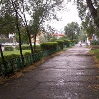 """У гостиницы """"Черногорск"""""""