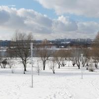 5-й квартал Капотни, спуск к Москве-реке.