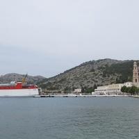 Остров Сими, монастырь Панормитис, посвящённый св. Михаилу