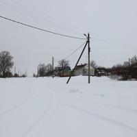 д. Филипповичи, Зарайский район, Февраль 2016. Заснеженные улочки