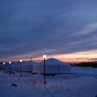 Красивый закат в Ацагате