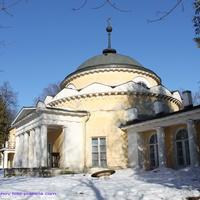 Церковь Димитрия Ростовского в усадьбе Суханово