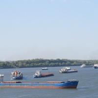 Вид на р. Дон с Аксайского моста