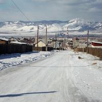 Вид от Большой Овражной улицы