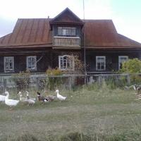 Дом Старшова Иоанна (до 90-х годов) в деревне Ионино