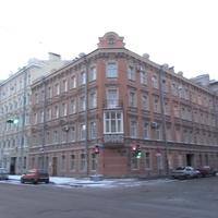 Угол  Тамбовской ул. и  Прилукской ул.