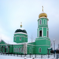 Свято-Троицкий храм в селе Большебыково