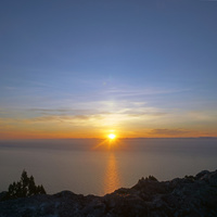 Ореанда. Крестовая гора. Восход солнца