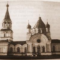 фотография Пышкетского храма 1912г.