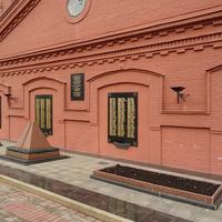На территории Музея Воды. Мемориал Великой Отечественной войны.
