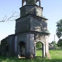 д. Будилиха. Руины старообрядческой церкви.