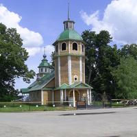 с. Владимирское. Владимирская церковь 1766 г.