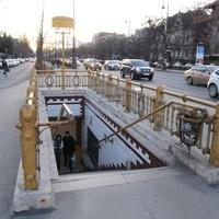 Будапешт, 2012 г. Станция метро.