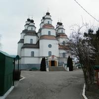 Деревянный Свято-Троицкий собор.10.03.2016.