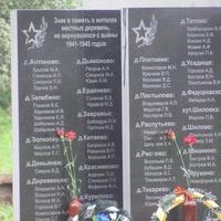 Памятник землякам,ушедшим на войну