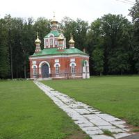 Церковь на территории санатория