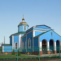 Покровский храм в пос. Пристень