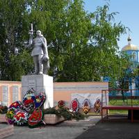 Братская могила воинов Советской Армии