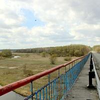 Мост через реку Бесядь.