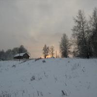 Зимний закат в Щипцово
