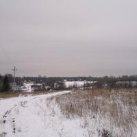 Щипцово- первый снег.