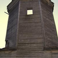 с. Знаменское. Знаменская церковь - колокольня.