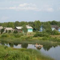 д. Гашково 2014, на реке Вожеге