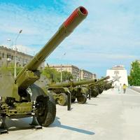 Выставка военной техники.